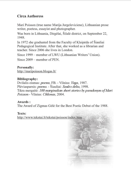 Mari Poisson biografija